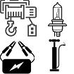 Autotarvikkeet, akkulaturit, viritys