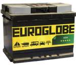 AGM battery 12v 55Ah -/+ 680A 242x175x190 Euroglobe warranty 2 years