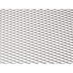 Maskiverkko-alumiini 100x25cm hopea pienemmän reikä