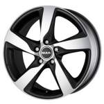 MAK Alloy Wheel Gothenburg Icetitan, 16x7. 0 5x108 ET45