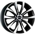 MAK Valuvelg WOLF BLACK peegel, 16x6. 5 5x114. 3 ET40