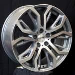 alumiinivanne Nano BK510 Grey Polished, 20x9.5 5x120 ET35