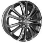 alumiinivanne Nano BK667 Grey Polished, 17x7.0 5x114.3 ET40