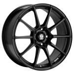 alumiinivanne Sparco Asseto gara black, 17x7.0 5x100 ET38