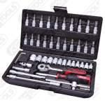 """1/4"""" padrunite k0mpl. 4-14mm. madal. 48 osa ks tools"""