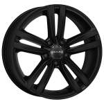 MAK Alloy Wheel SACHSEN W MAT BLACK, 16x6. 5 5x112 ET42 middle hole 57