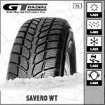 GT Radial SUV winter Tyre Without studs SAVERO WT 265/70R16 112T