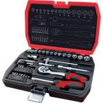 "Mechanic\'s set, Socket Wrench Set 42- pc 1/4"""