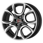 MAK Alloy Wheel Torino Gun Met Mirr, 16x7. 0 4x98 ET39 middle hole 58