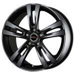 MAK Alloy Wheel Zenith Matt Black, 17x7. 0 5x114. 3 ET40 middle hole 76