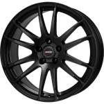 ALUTEC Alloy Wheel Monstr Black, 19x8. 5 5x114. 3 ET40 middle hole 70