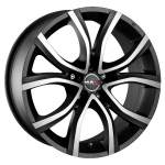 MAK Alloy Wheel Nitro 5 holes, 17x7. 5 5x98 ET25 middle hole 58