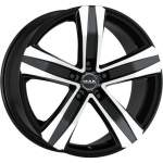 MAK Alloy Wheel Stone 5 Black Mirror, 16x6. 5 5x112 ET50 middle hole 76