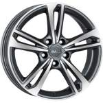 MAK Alloy Wheel Emblema Gun Met Mirr, 16x6. 5 5x110 ET35 middle hole 65