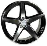 ACC Sport 5 Black Polished 67, 1 15x6, 5 5x114, 3 Offset 38
