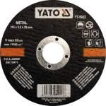YATO YT-5923 laikka metallin leikkaamiseen 125X1.2X22