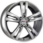 MAK Alloy Wheel Zenith Silver, 17x7. 0 5x114. 3 ET40 middle hole 76