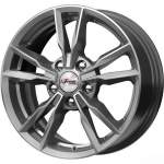 iFree Alloy Wheel Ikigai Hyper Silver, 16x6. 5 5x112 ET40 middle hole 66