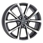 MAK Alloy Wheel Polaris GMMF, 17x7. 0 5x100 ET55 middle hole 56