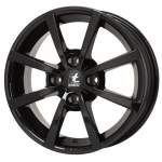 ITWHEELS 6. 0x15, 4x108, CH 63, 4, ET: 40; wheel aluminium Alisia Gloss black