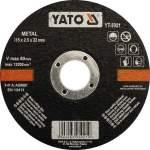 YATO YT-5921 laikka metallin leikkaamiseen 115X2,5X22