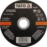 YATO YT-6103 laikka metallin leikkaamiseen ja ruostumaton metallin 125X1,2