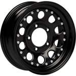 DOTZ Alloy Wheel Beadlock 5 Black, 15x6. 0 ET middle hole 08