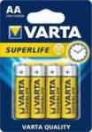 VARTA paristo SUPERLIFE AA R6P BLISTER 4 kpl