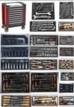 työkaluvaunu työkaluilla 288 työkalut