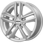 Carwel Alloy Wheel Nero Silver, 16x6. 5 ET middle hole 57