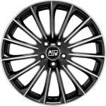 MSW Valuvelg 30 Black Full Polish, 17x7. 5 5x114. 3 ET45 Keskava 73