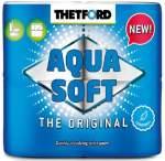 WC kemikaal Thetford Aquasoft WC paber, 4rulli
