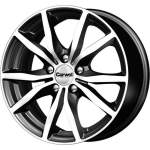 Carwel Alloy Wheel Bekan Blk Pol, 15x6. 5 ET middle hole 66