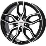 Carwel Alloy Wheel Epsilon Black Pol, 16x6. 5 ET middle hole 57