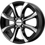 Carwel Alloy Wheel Omicron Black Pol, 15x6. 0 ET middle hole 54