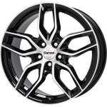 Carwel Alloy Wheel Epsilon Black Pol, x0. 0 ET middle hole