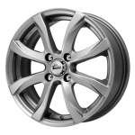 iFree Alloy Wheel Dice Hyper Silver, x0. 0 ET middle hole
