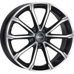 MAK Alloy Wheel DaVinci Black Mirror, 16x6. 5 5x112 ET43 middle hole 57