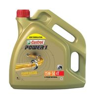 CASTROL  Mootoriõli POWER 1 4T 15W-50 4l 15044F
