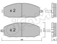 CIFAM  Piduriklotsi komplekt, ketaspidur 822-407-0