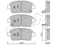 CIFAM  Piduriklotsi komplekt, ketaspidur 822-423-0