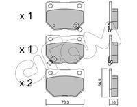 CIFAM  Piduriklotsi komplekt, ketaspidur 822-501-0
