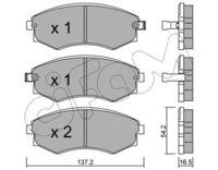 CIFAM  Piduriklotsi komplekt, ketaspidur 822-518-0