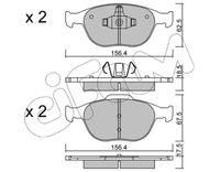 CIFAM  Piduriklotsi komplekt, ketaspidur 822-533-0