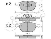 CIFAM  Piduriklotsi komplekt, ketaspidur 822-534-0