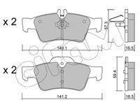 CIFAM  Piduriklotsi komplekt, ketaspidur 822-568-0