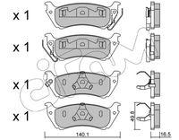 CIFAM  Piduriklotsi komplekt, ketaspidur 822-570-0