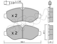CIFAM  Piduriklotsi komplekt, ketaspidur 822-671-4