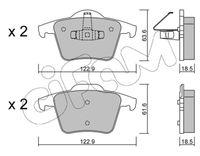 CIFAM  Piduriklotsi komplekt, ketaspidur 822-688-0