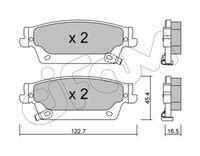 CIFAM  Piduriklotsi komplekt, ketaspidur 822-701-0
